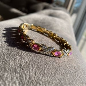 Gorgeous gold-plated bracelet 💕🌸